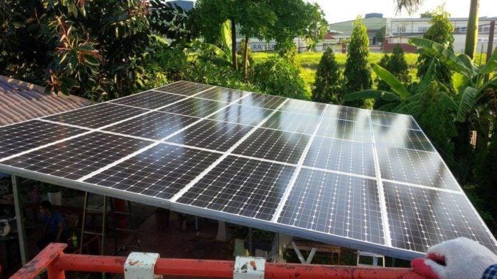 Lắp đặt Điện năng lượng mặt trời hòa lưới