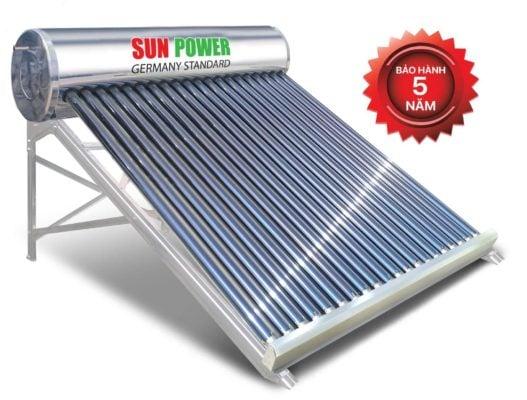 lắp đặt Máy nước nóng năng lượng mặt trời